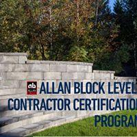 Allan Block Level 1 Contractor Certification Program