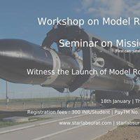 Workshop on Model Rocketry at SCET