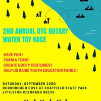 2nd Annual DTC Rotary Water Toy Race