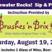 Brushes n Brix at the Rocks