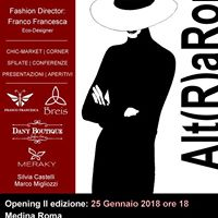 Alt(R)aRoma 2018 - II edizione- Grand Opening 25 Gennaio ore 18.00