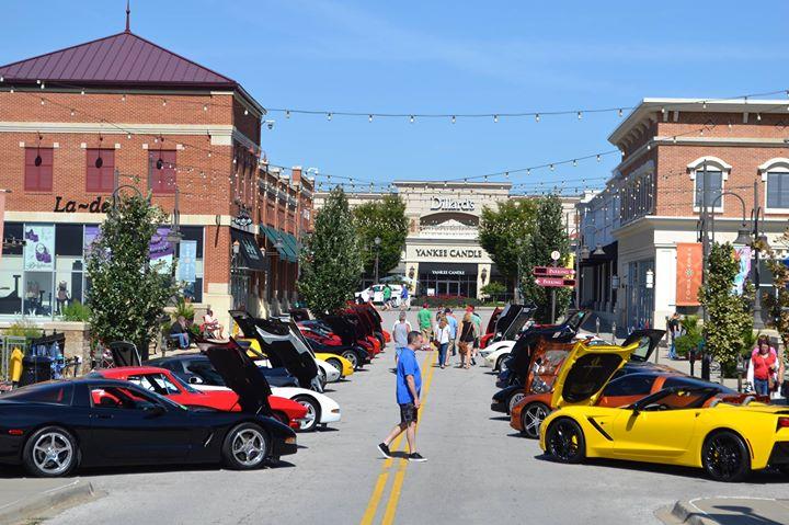Corvette Club Of KC Car Show At Zona Rosa Kansas City - Kansas city car show