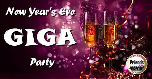 Friends NYE GIGA Party - Mc Loki  DJ WhiteCat