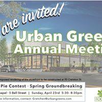 Urban Greens Annual Meeting
