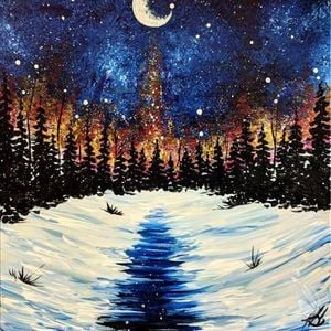 Wine Down Wednesday Paint Sip Party At Painting With A Twist