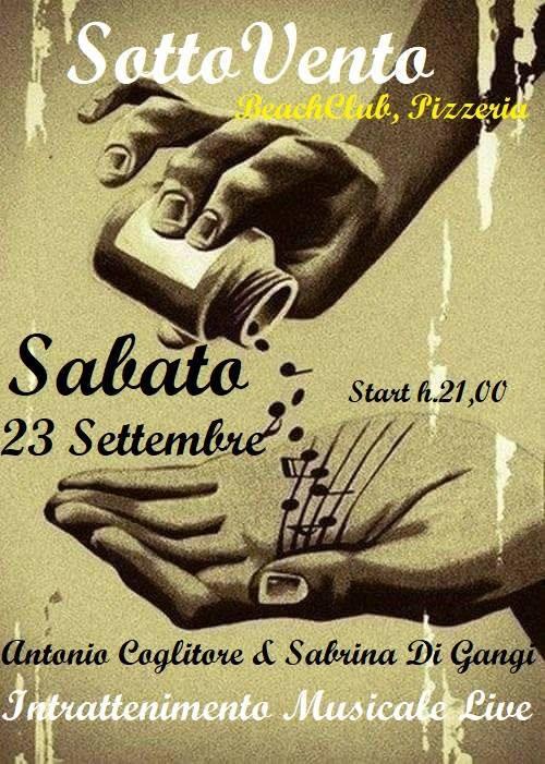 IIl Sabato con Antonio Coglitore e Sabrina Di Gangi