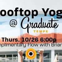 Free Rooftop Yoga with CorePower &amp The Graduate Tempe