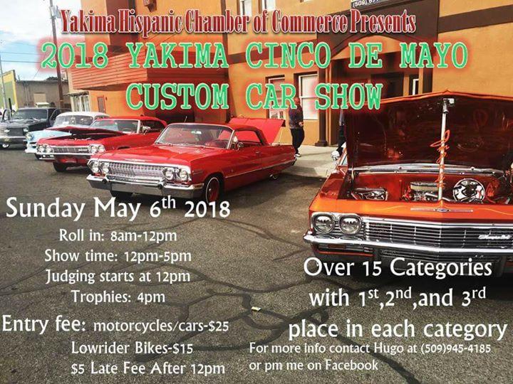 Yakima Cinco De Mayo Car Show At Yakima WA Yakima - Car show near me