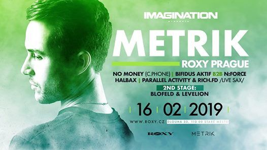 Metrik (UK) - 16.2.2019 Roxy Prague