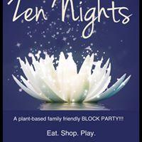 Zen Nights Block Party  Plant Based Challenge