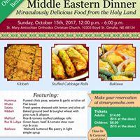 Saint Marys Middle Eastern Annual Dinner