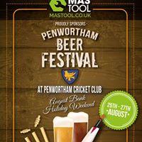 Penwortham Beer Festival August Bank Holiday Weekend  Fri Sat &ampSun