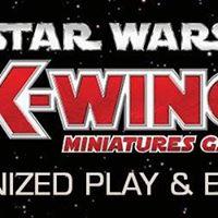 Star Wars X-Wing FFG Organised Play Kit Tournament