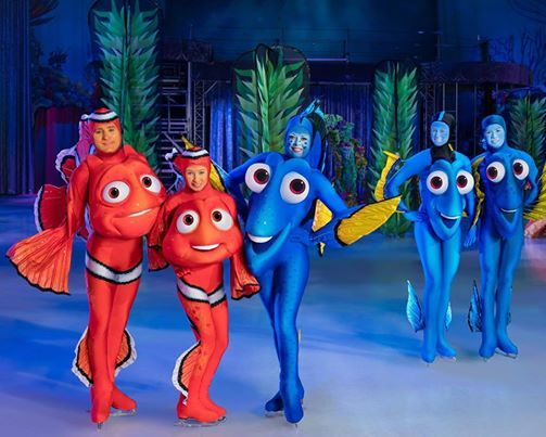 Disney On Ice Under The Sea Family Crafty Fun (2-11 yrs)