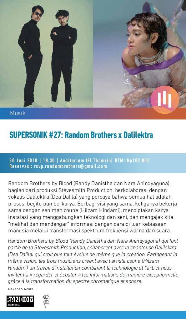 Supersonik Random Brothers x Dalilektra