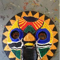 African Mask-making For Kids With Zoe Parker (SEN Friendly)