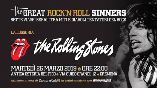 The Great RockNRoll Sinners  La lussuria  The Rolling Stones
