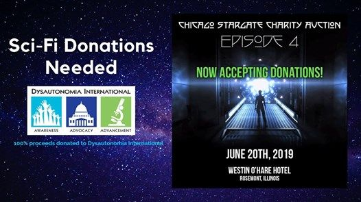Stargate Con Auction - Donation Request at Westin O'Hare