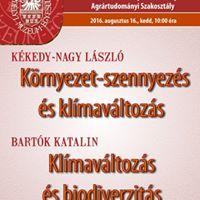 Bartk Katalin Klmavltozs s biodiverzits
