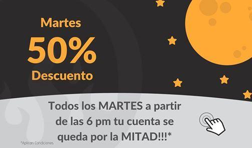 Martes 50 De Descuento Desde Las 6 Pm At El Brasero Quito
