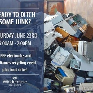 Free Electronics Recycle and Food Drive Event