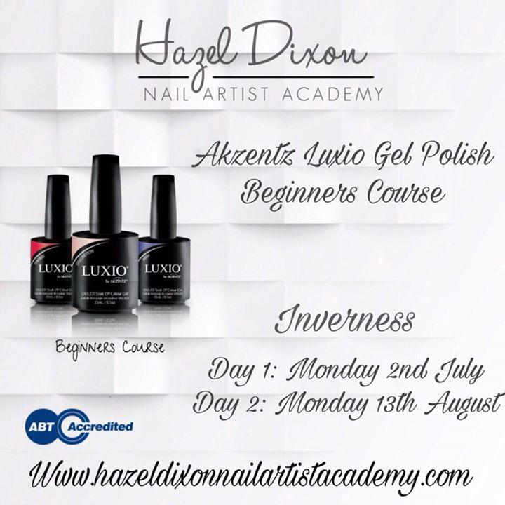 Akzentz Luxio Gel Polish Beginners Course at Karen Newman Nails ...