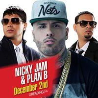 Nicky Jam &amp Plan B en Reading PA