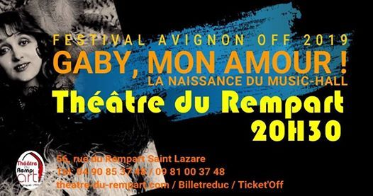 Gaby mon amour La naissance du Music-Hall