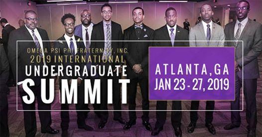 2019 International Undergraduate Summit