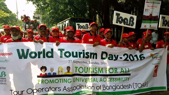 World Tourism Day Rally 2017