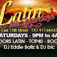 Latin Mix Saturdays - 9PM Ladies Free Bef 12 - Club Cache