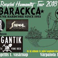 Barackca TOUR 2018 Vrpalota
