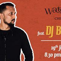 DJ Blaise performance at Watsons Chennai