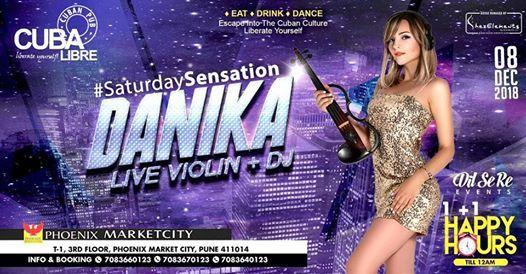 Saturday Sensation with DJ Danika