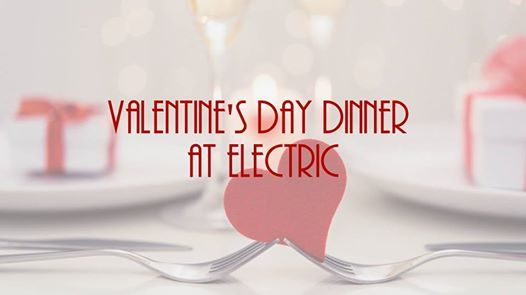 Valentines Day Dinner in the restaurant