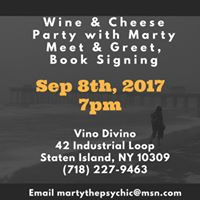 Wine &amp Cheese Party with Marty
