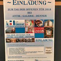 Tag der offenen Tr 2018 Antik-Galerie-Denner