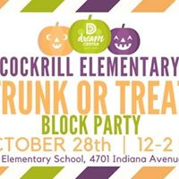 Cockrill Elementary Trunk or Treat Block Party