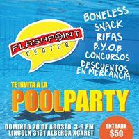 Flashpoint te invita a la Pool Party