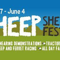 Sheep Shearing Festival - May 27 to June 4