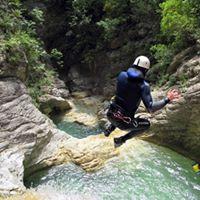 Canyoning  Forra di Prodo  30 Aprile 2017