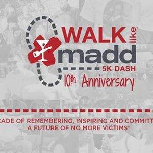 2018 Baltimore Walk Like MADD and 5K Dash