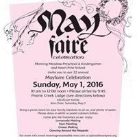 Mayfaire celebration