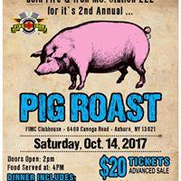 Fire &amp Iron MC Station 222 2nd Annual Pig Roast
