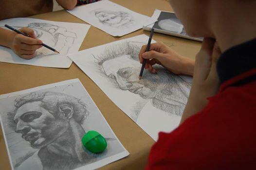 Curs de desen  portret