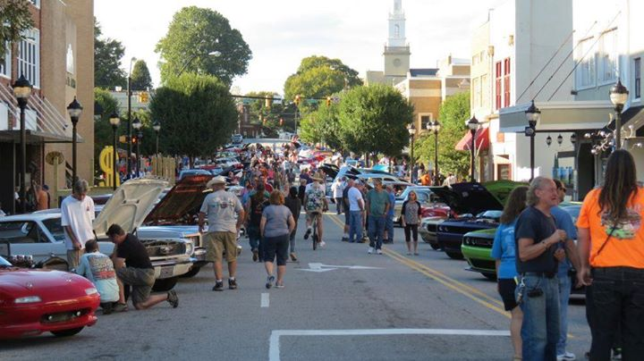 May 2017 lenoir downtown cruise in at downtown lenoir nc for Craft shows in nc 2017