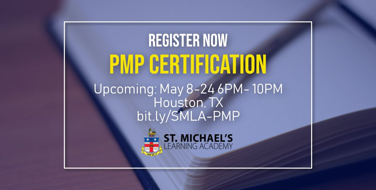 Weeknight Project Management Professional Pmp Certification At St