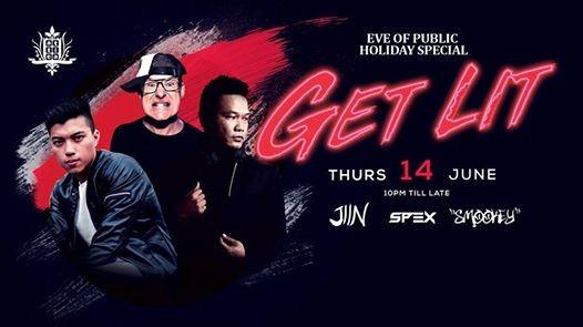 Get Lit Thursday 14th June 2018