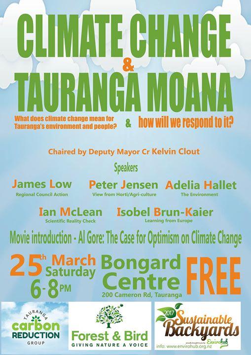 Climate Change and Tauranga Moana