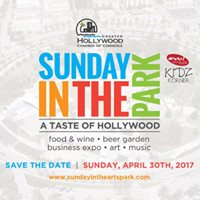 Sunday in the Park A Taste of Hollywood